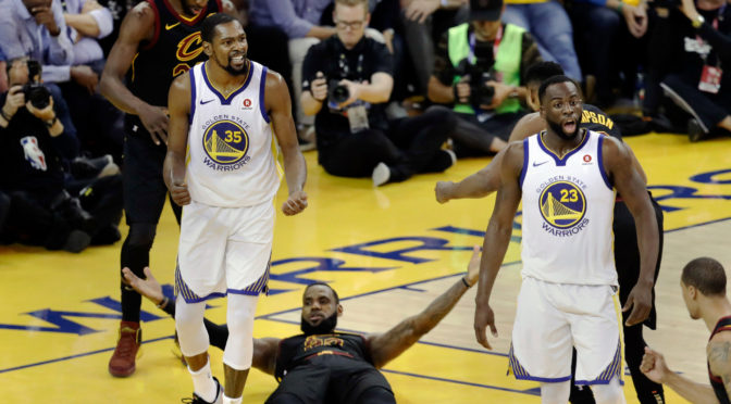 5 Unbelievable Numbers/Facts In Game 1 Of The NBA Finals